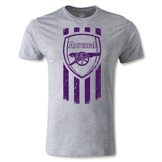 Arsenal Graphic Men's Fashion T-Shirt (Gray)