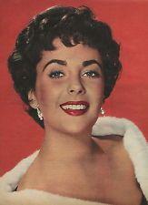 Elizabeth Taylor in Fur clipping original magazine photo