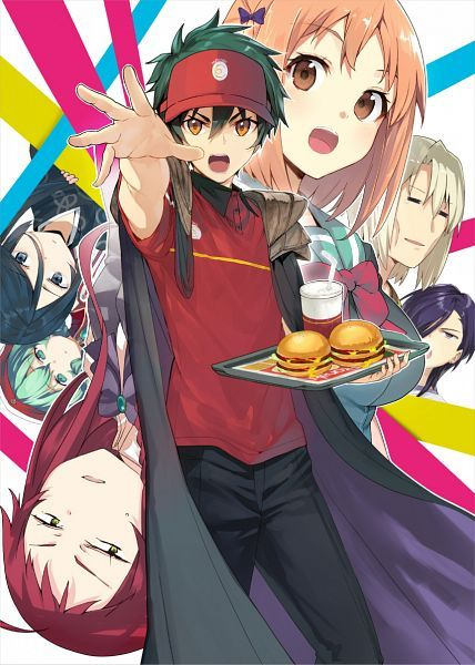 The Devil is a Part Timer  Ashiya... What is going on with your eyes....?
