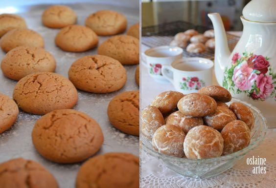 Pfeffernussen ou Biscoitos Alemães de Natal