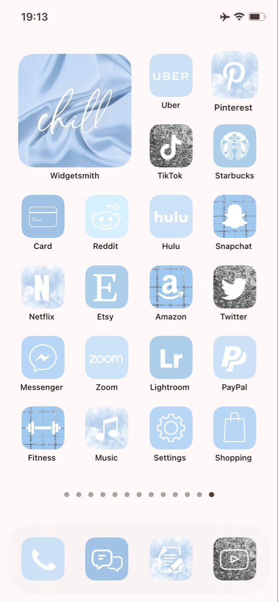 30 000 Ios 14 App Icons Sky Blue Custom Your Iphone Home Screen Widget With Words Aesthetic App Covers App Icon Homescreen Homescreen Iphone