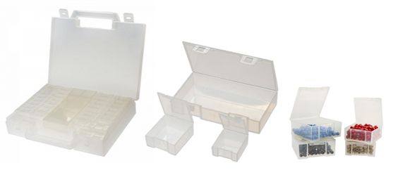 Rangez toutes vos petites fournitures de travaux manuels avec cet organiseur à casiers de rangement amovibles ! A partir de 8,40€ >>> http://www.perlesandco.com/Malette_de_rangement_Eco_52_compartiments_x1-p-73709.html