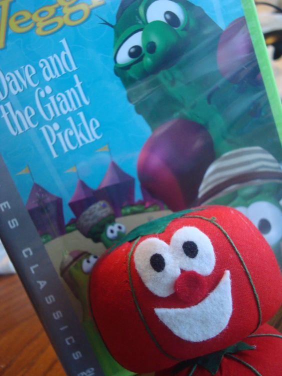 veggietales felt tutorial   DIY Veggie Tales Toy