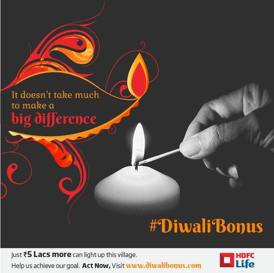 Donate now to power up this village & these kids' future. Visit diwalibonus.com