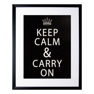Cadre décoratif Keep Calm
