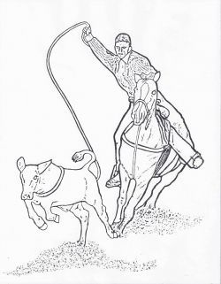 free rodeo coloring pages - photo#20