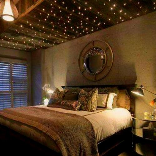 Cheap But Beautiful Diy Fairy Light Decor Idea For Every Room In The House Romantic Bedroom Lighting Fairy Lights Decor Fairy Lights Room