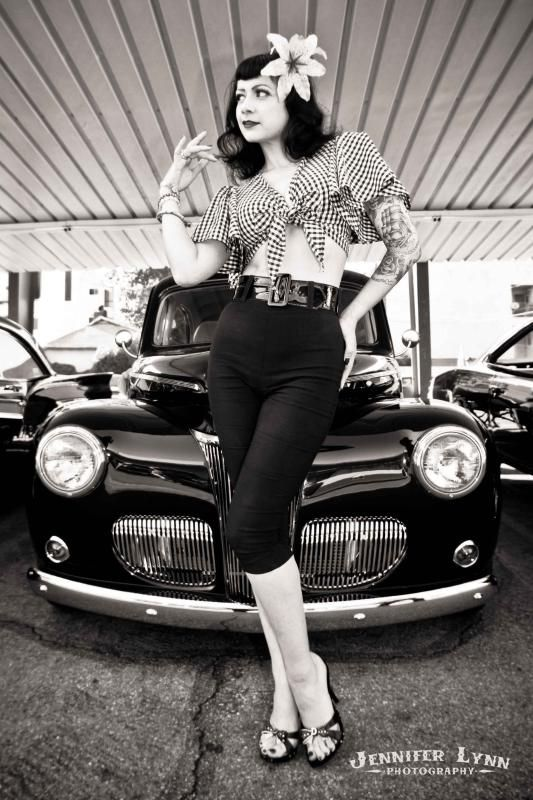 pin up classic car model photography by jeniffer lynn photography pinterest pin up. Black Bedroom Furniture Sets. Home Design Ideas