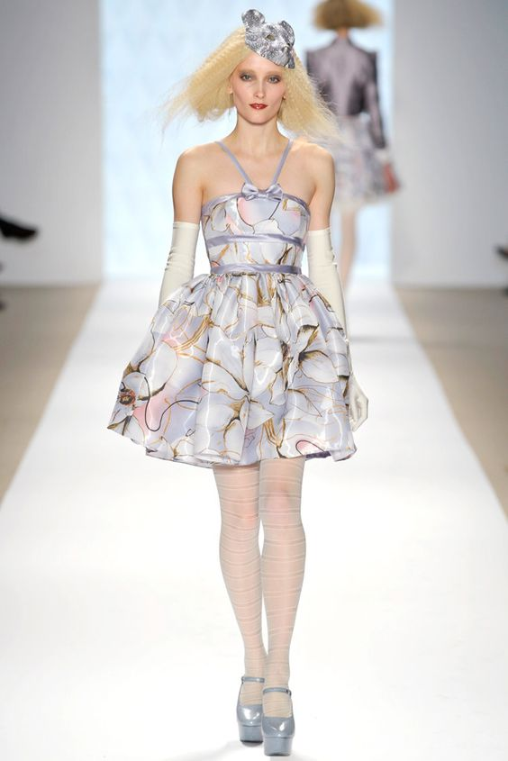 Erin Fetherston Fall 2009 Ready-to-Wear Fashion Show - Iekeliene Stange