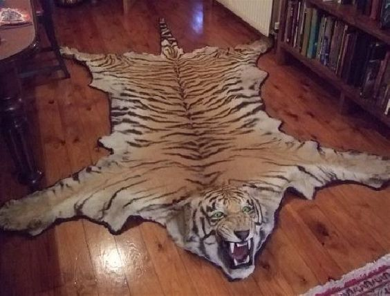 Faux Animal Skin Rug Home Pinterest Animals Tigers