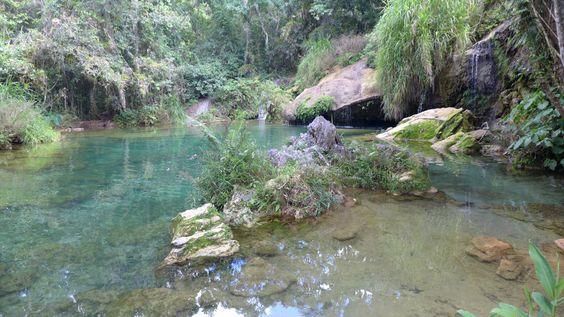 Kuba, El Nicho Wasserfall