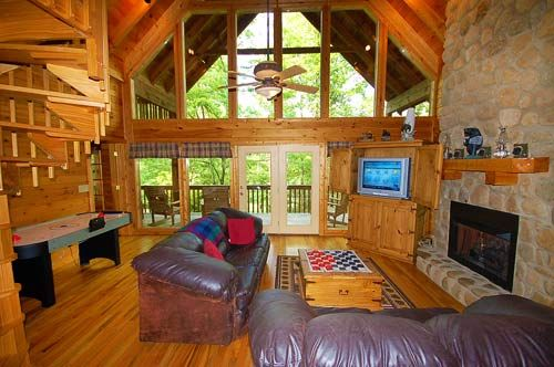 Big bear retreat vacation cabin rental in pigeon forge and for Big bear retreat cabins