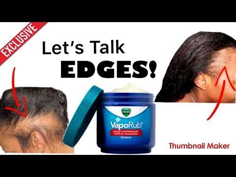 How to Grow Hair FAST with Vicks Vapor Rub| DIY| Hair Growth