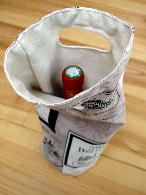 sac porte bouteille sac vin pinterest bags and bottle