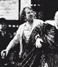 alanprickman:    Alan Rickman in the play Hamlet... - Alan Rickman.: