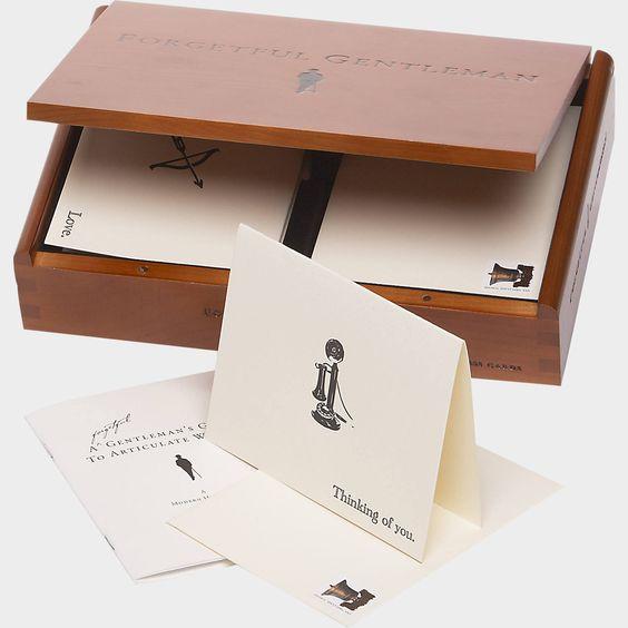 Forgetful Gentleman Letterpress Stationery Kit | Men's Wearhouse