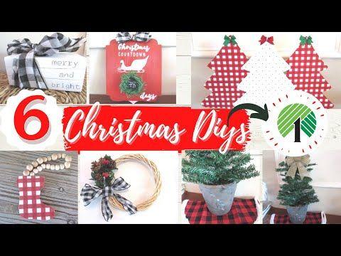 Dollar Tree Christmas 2020 Diy S Easy Buffalo Check Christmas Ideas 6 Ch In 2020 Dollar Store Christmas Decorations Christmas Crafts Diy Dollar Tree Christmas