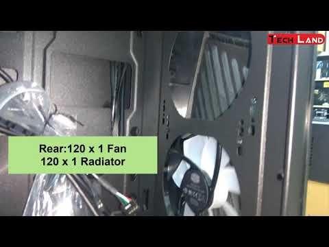 Cooler Master Masterbox K501l Angled Ventilation Mid Tower Case