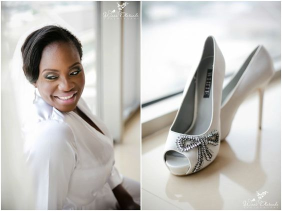 Black, White and Silver Wedding at Havilah House of Events in Lagos, Nigeria / Photo by Wani Olatunde Photography