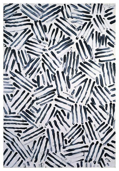 Jasper Johns - Untitled, 1978.  Art Experience NYC  www.artexperiencenyc.com/social_login/?utm_source=pinterest_medium=pins_content=pinterest_pins_campaign=pinterest_initial