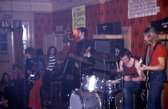 The Hype at The White Bear, Hounslow, March 3rd 1970