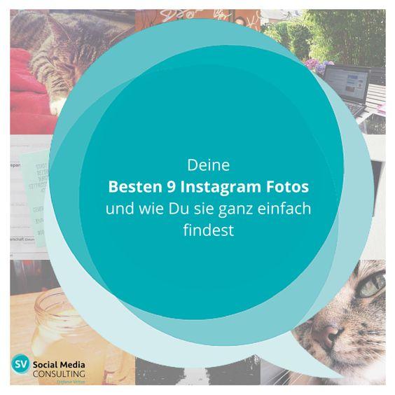 Ein einfacher Weg Deine 9 besten und beliebtesten Instagram Fotos über Social Media zu teilen. #2015Best9 #socialmedia #instagrammarketing #tips&tricks