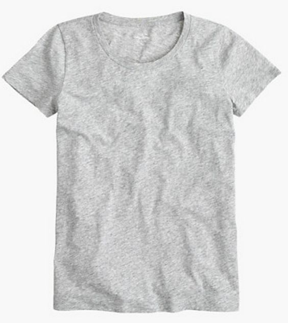 Simple grey tee - will go with everything