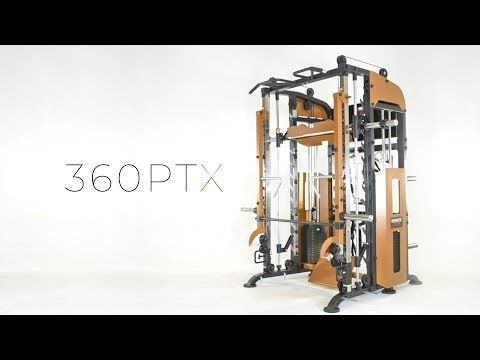 Functional Trainer 360ptx With Jammer Arms Ideal For Pt Studios Home Gyms Or Any Serious Trainer It Has Everything At Home Gym Gym Interior Workout Machines