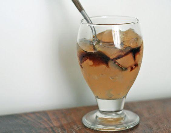 Korean Ginger Jelly with Honey Molasses Syrup Recipe (Girl Cooks World)