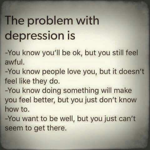 You feel worthless like your life has no purpose and the only emotion you seem to really experience is sadness #Depression #MentalIllness