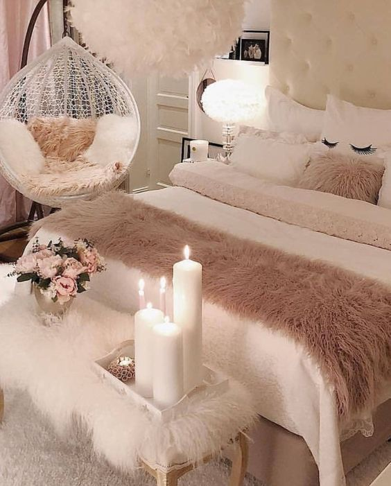 Feminine Bedroom Ideas For More Peace And Romance In The Room My Desired Home Feminine Bedroom Feminine Bedroom Decor Small Room Bedroom