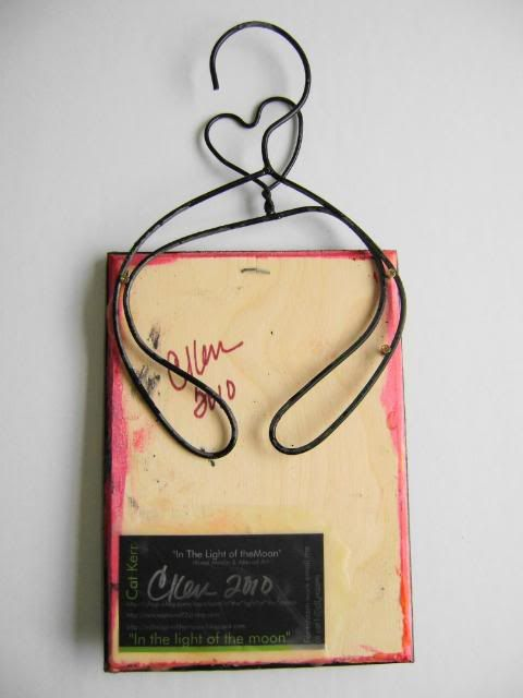 use of doll hanger twisted. idea on labeling | Wire creations ...