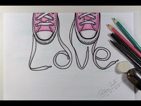 Como Desenhar Love Tumblr Passo A Passo Youtube