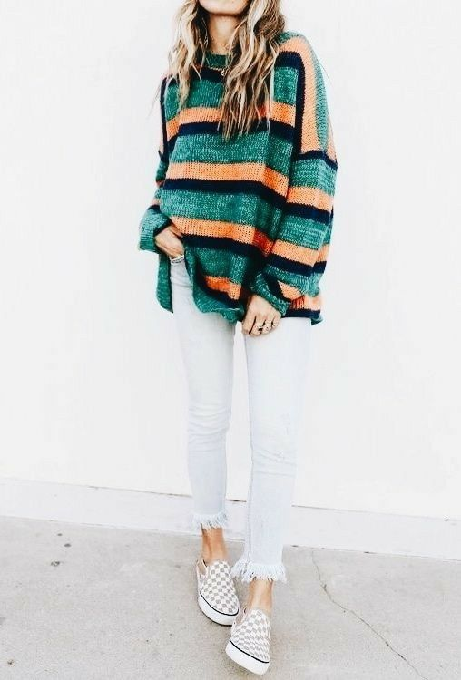 Charming Stripes Outfits