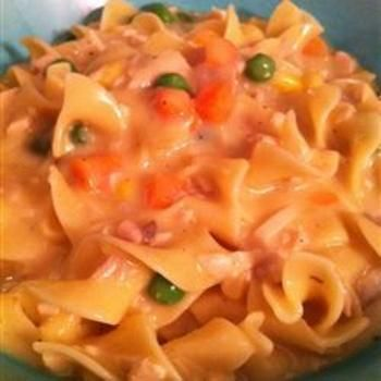 Incredibly Easy Chicken and Noodles