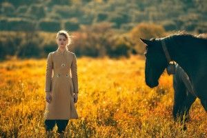 Frida Gustavsson Wears Outdoors Fashion in Editorial for ELLE Sweden