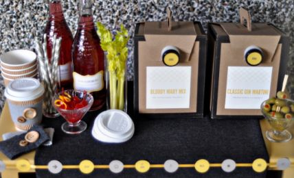 cocktails in a box: Empty Boxes, Box Purchase, Wine Boxes, Party Ideas