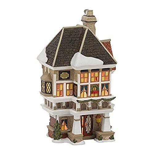 Department 56 Dickens Christmas Carol Village Nephew Fred's Home ...