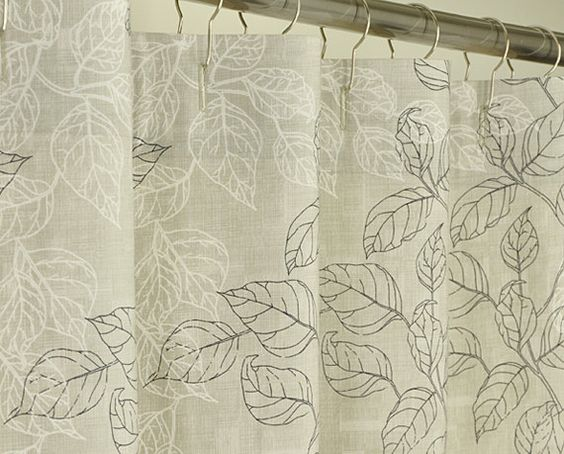 Long Curtains 94 inch long curtains : 78 inch long shower curtain fabric | Extra Long Taupe Shower ...