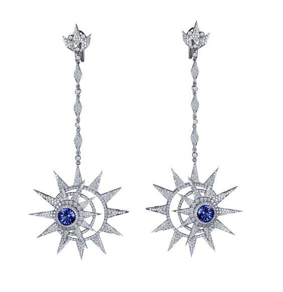 Jacob & Co. Celeste Collection Earrings #JacobArabo #JacobandCo. #earrings #diamond #celeste