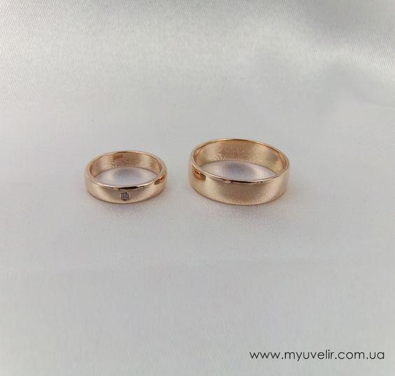 Классические свадебные кольца