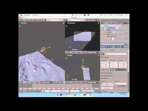 26 How To Import A Hirise Dtm Into Blender Youtube Blender Imports Youtube