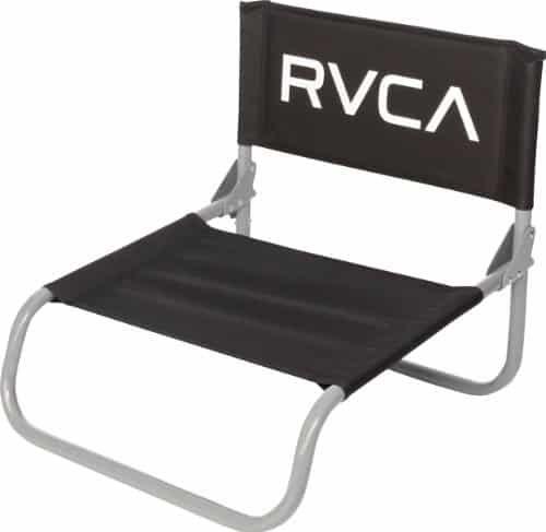 Rvca Unisex Lazyday Beach Chair Black One Size