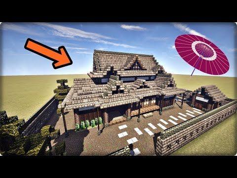 6 マインクラフト 家を和風建築してみる 和風の家の作り方