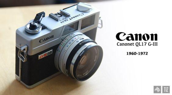 My Canon Canonet QL17 G-III. — Imaginary Zebra™ // IZ™