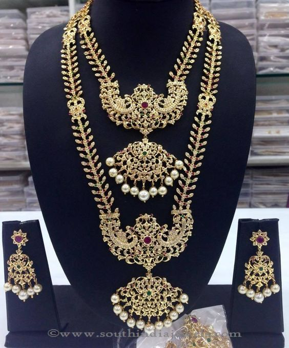 Imitation wedding jewellery sets, South Indian wedding jewellery sets, Bridal wedding jewellery sets.