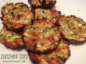 Chasing Kids and Dreams: Zucchini Tots