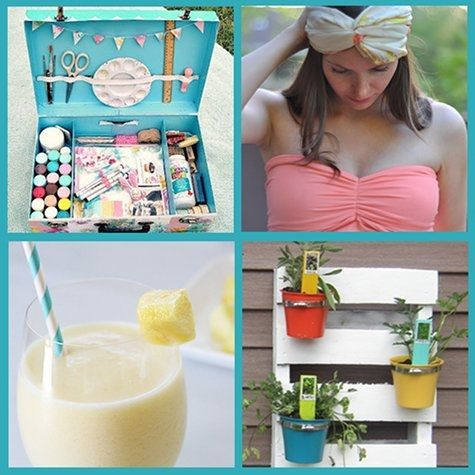 DIY summer craft projects by soapdeligirl