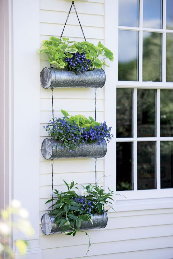 32 Awesome Easy Diy Garden Design Ideas To Build Your Dreamy Garden Hcylife Blog Hanging Planters Outdoor Hanging Plants Diy Hanging Plants