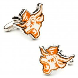 Why wait till Thursday to check out some Throwback Cufflinks with these Vintage Longhorns Cufflinks #HookEm